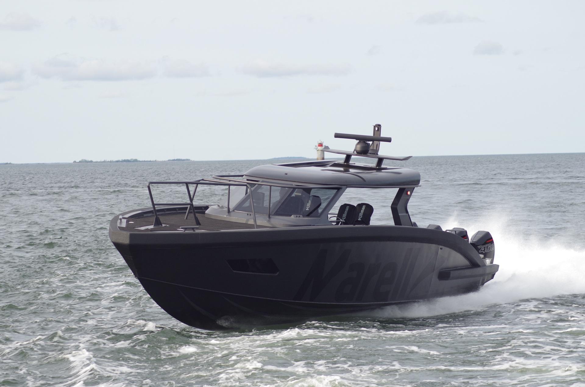 boat speeding