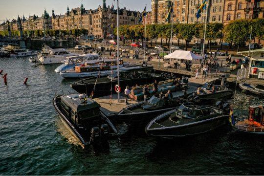 boat at kmk event