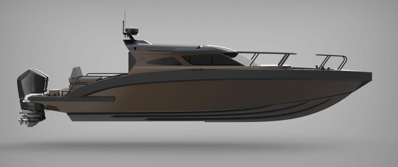m12 custom boat