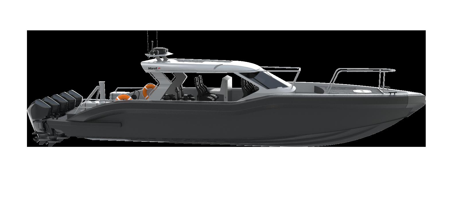 M15 patrol rendered boat model