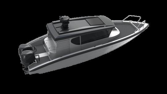 m9 rendered model custom cabin