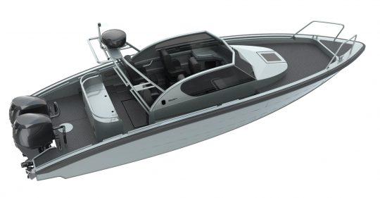 m9 rendered model custom open