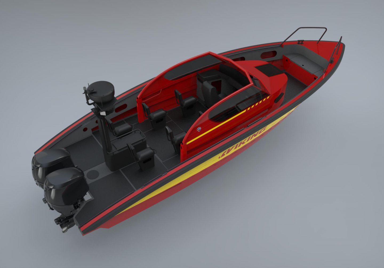 m9 patrol rendered model
