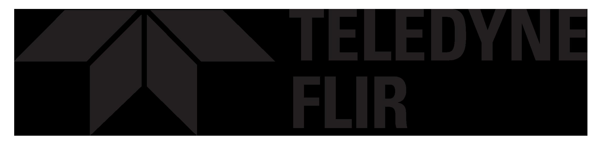 Teledyne FLIR_2 Line Logo_Black_without Everywhere Tagline